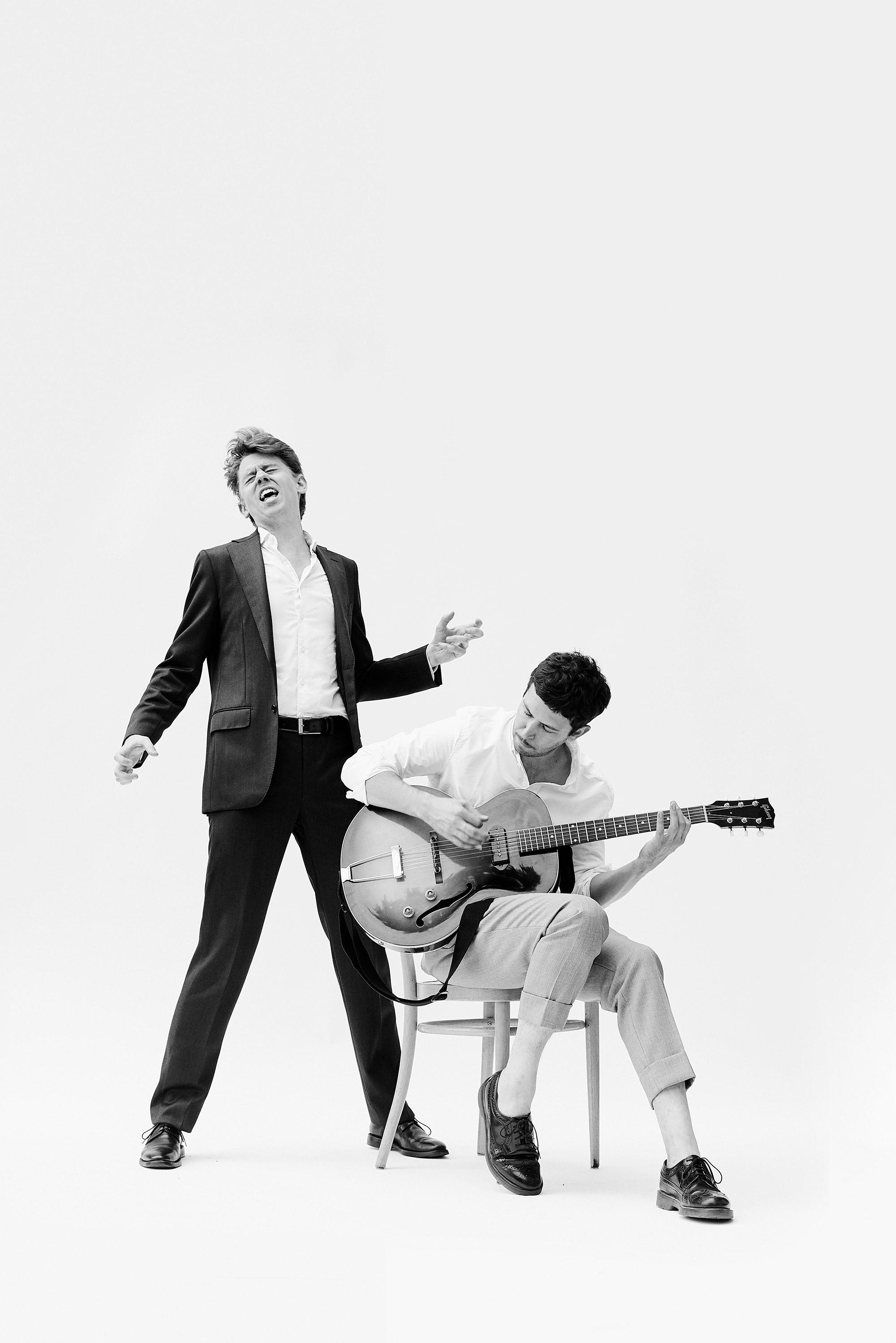 Michael Fehr und Manuel Troller